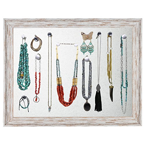 Jewelry Display Organizer Wall Mount, Large Magnetic Bull...