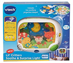 VTech Baby Lil\' Critters Soothe and Surprise Light
