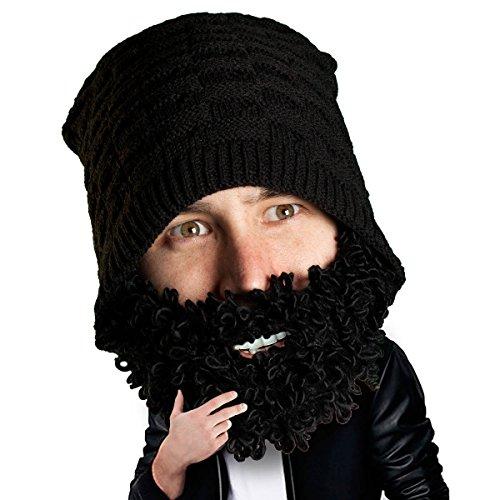 Beard Head - The Original Curly Atticus Knit Beard Beanie