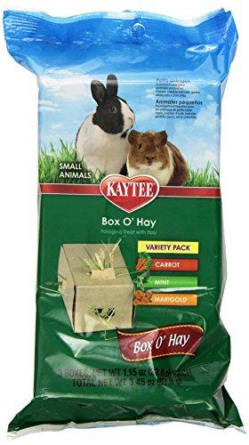 Kaytee Kaytee Tube O Hay Plus Marigold Treats, 4-Inch/2.7-Ounce