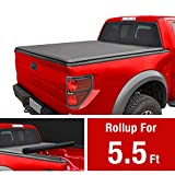 MaxMate Roll Up Truck Bed Tonneau Cover Works with 2009-2014 Ford F-150 (Excl. Raptor Series) | Styleside 5.5' Bed | for Models Without Utility Track System