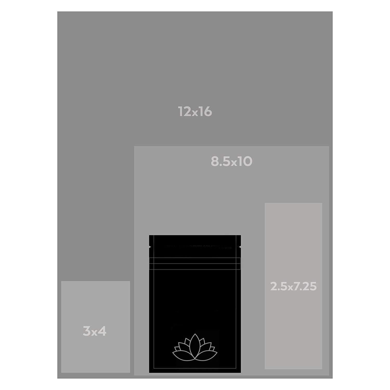 Amazon.com: JS Studios bolsas premium a prueba de olores, 4 ...