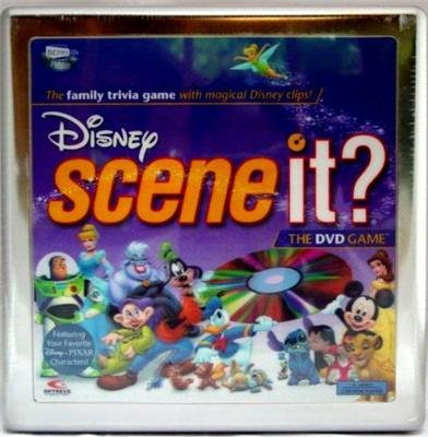 Disney Scene it? The DVD Game Tin Box by Screenlife