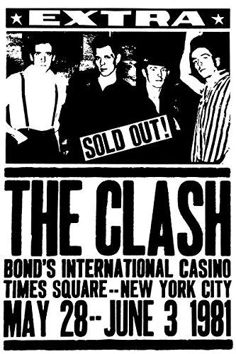 The Clash - Bond's International Casino - New York - 1981 - Concert ()