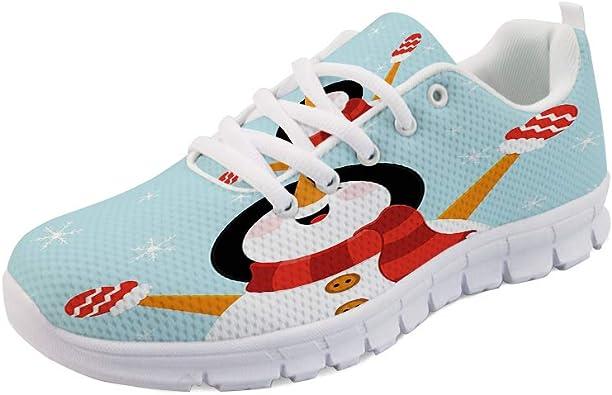 Snowman Mens Lightweight Sports Running Shoes