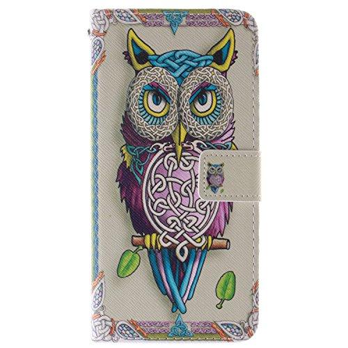 """MOONCASE iPhone 6 Case Magnetverschluss Leder Tasche Flip Case Cover Mit Standfunktion Kartenfächer Schutzhülle Etui Hülle Schale für iPhone 6 (4.7"""") -TX07"""
