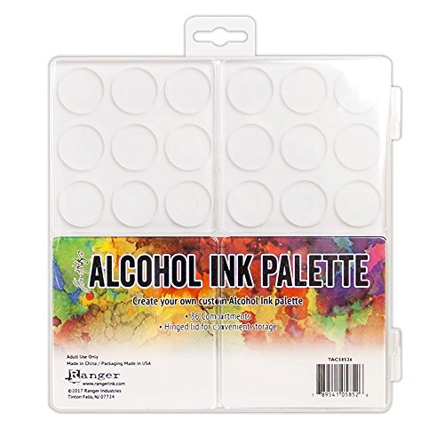 Ranger TAC58526 Tim Holtz Alcohol Ink Palette, Multicolor (Tim Holtz Ink Palette)