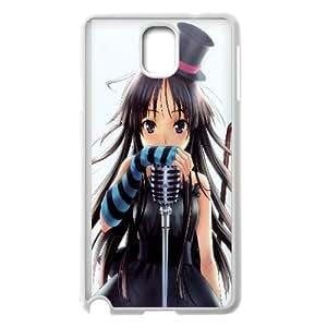 Mio Akiyama K On Anime Samsung Galaxy Note 3 Cell Phone Case White Exquisite designs Phone Case KM586H45