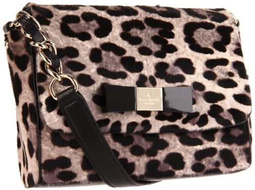 Kate Spade Sasha Shoulder Bag,Grey/Leopard,one - Sasha Leopard