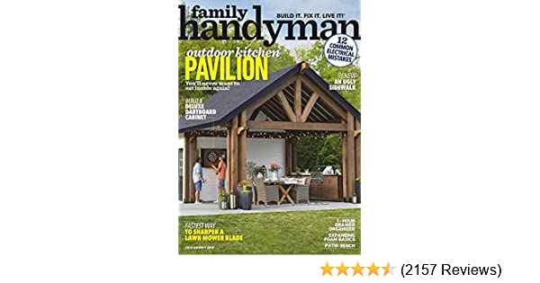 Family Handyman: Amazon com: Magazines