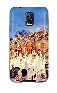 Fashion Tpu Case For Galaxy S5- Holiday Christmas Defender Case Cover