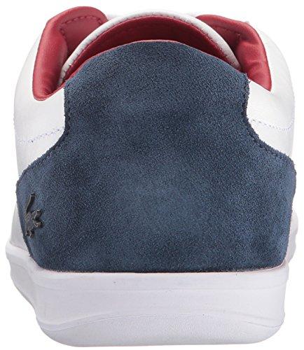 Lacoste Heren Ls.12-minimal 316 3 Cam Fashion Sneaker Wit / Marine