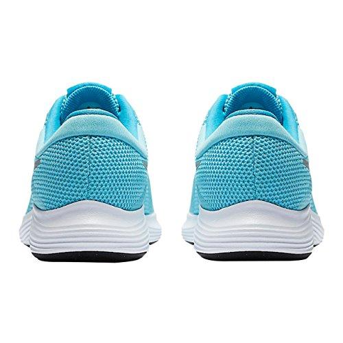 Silver GS Mujer Running para Revolution Zapatillas 4 400 Nike Metallic Azul Bleached Aqua Trail wg0t7aqtxB