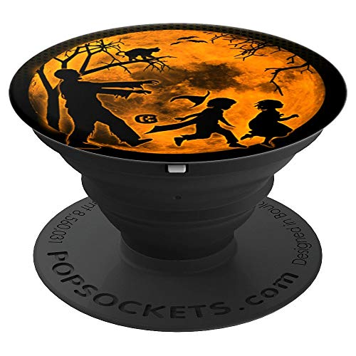 Funny Spooky and Scary Dead Zombie Halloween Party Gift Idea - PopSockets Grip and Stand for Phones and Tablets