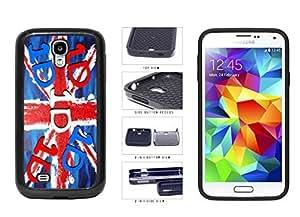 1D United Kingdom Flag 2-Piece Dual Layer Phone Case Back Cover Samsung Galaxy S4 I9500