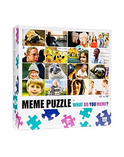 What Do You Meme? Grid 500 Piece Jigsaw Puzzle by What Do You Meme