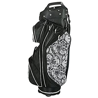 Hot-Z Golf Ladies Heritage Collection Time Square Cart Bag w/ Head Covers Set