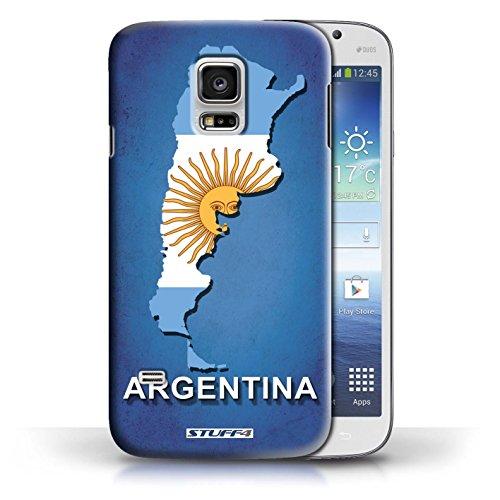 Kobalt® Imprimé Etui / Coque pour Samsung Galaxy S5 Mini / Argentine conception / Série Drapeau Pays