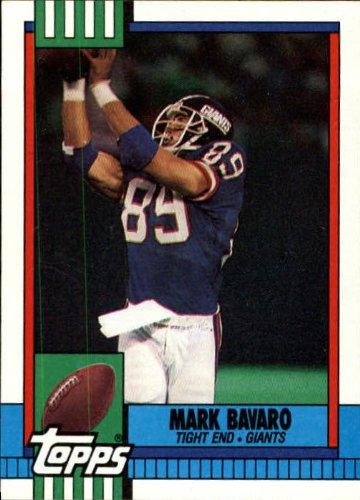 1990 Topps Football Card #60 Mark Bavaro ()