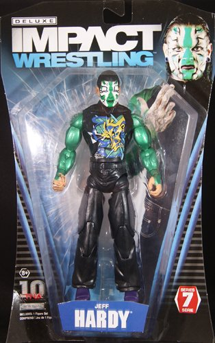 JEFF HARDY - TNA DELUXE IMPACT 7 TOY WRESTLING ACTION FIGURE