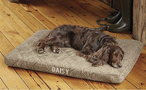 Orvis Platform Dog Bed Cover/Small Dogs Up To 40 Lbs, Brown Tweed by Orvis
