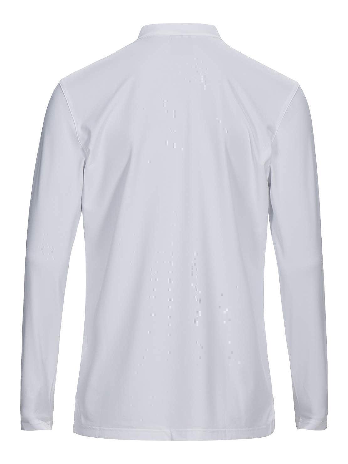 PEAK PERFORMANCE Austin - Polo de manga larga, color blanco ...