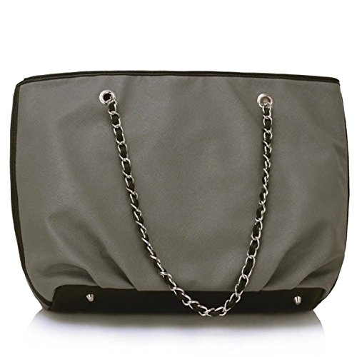Xardi London, Borsa a spalla donna large Grey