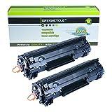 GREENCYCLE 2 PK C128 Black Laser To