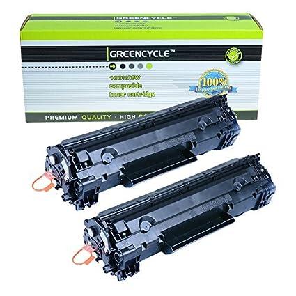 Amazoncom Greencycle 2 Pk C128 Black Laser Toner Cartridges