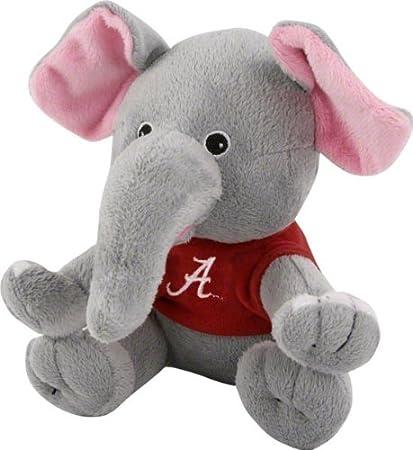 Amazon Com Alabama Crimson Tide Plush Baby Elephant Toys And