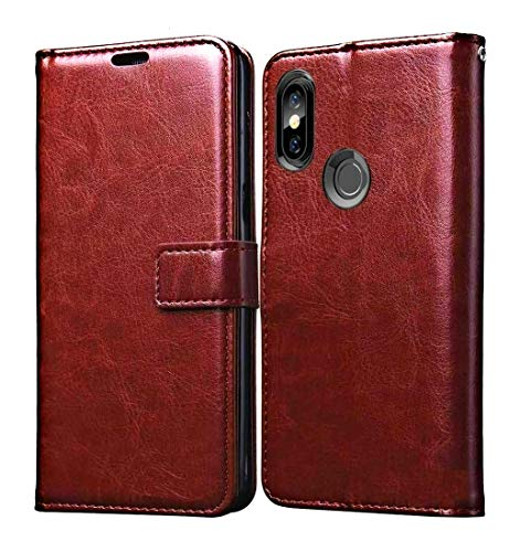 trumbote leather vintage Flip Cover case for one plus 7
