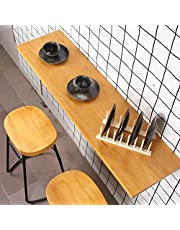Wall Mounted Folding Table Kitchen, Drop Leaf Tables for Small Spaces - Dining Table   Fold Down Wall Table   Hanging Table Balcony, Floating Laptop Computer Desk, for Dining, Study, Bar