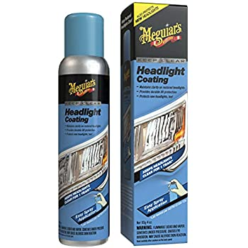 Meguiar's G17804 Keep Clear Headlight Coating, 4 oz. - Maintain the Clarity of Your Headlights