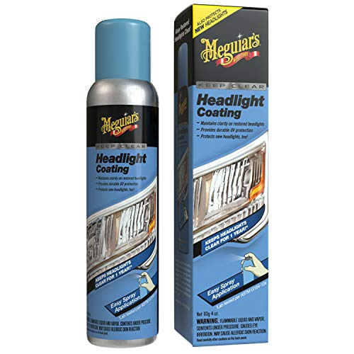 Meguiar's G17804 Keep Clear Headlight Coating, 4 oz. - Maintain the Clarity of Your Headlights ()