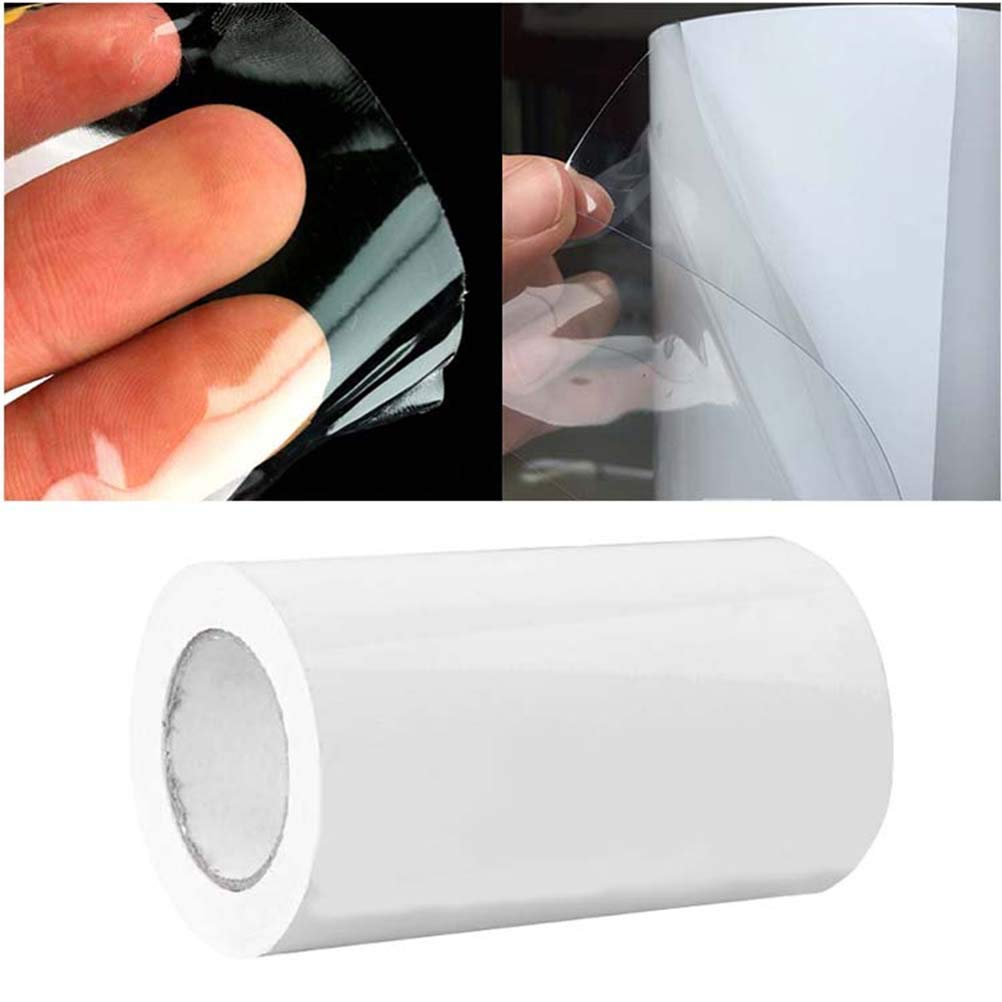 Vosarea Pellicola Protettiva Auto Trasparente Adesivo in PVC 20x500CM