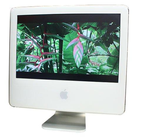 アップル Apple iMac G5 (1.6GHz 17インチワイド液晶 1GB 500GB)