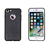 FANSONG iPhone 6s/6 Case, [Carbon Fiber Lines] TPU Silicone Slim Protective Back Cover Case for Apple iPhone 6s/6, Black