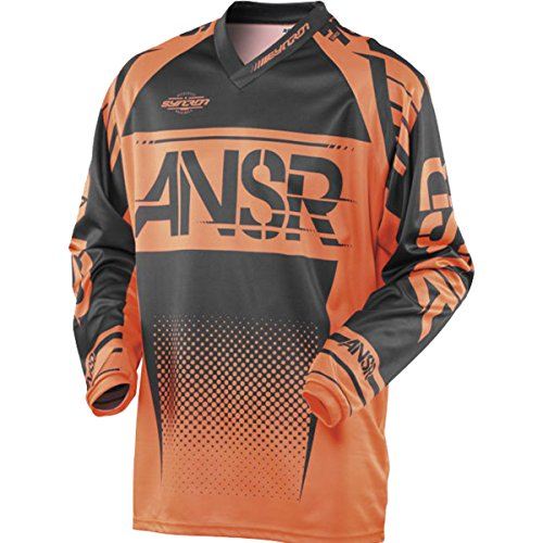Answer Racing A17.5 Syncron Boys Off-Road Motorcycle Jerseys - Orange/Black/X-Large
