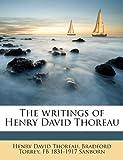 The Writings of Henry David Thoreau, Henry David Thoreau and Horace Elisha Scudder, 1177091526