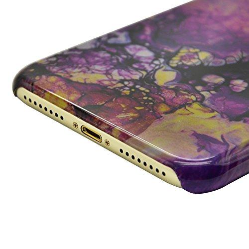 Funda para iPhone 6 Sunroyal Premium Mármol Patrón Suave TPU Carcasa Protector Bumper Tapa Flexible Silicona Gel Ultra Delgado Case Cover Parachoques Cubierta Caja del Teléfono para iPhone 6s / 6 4.7 A-24