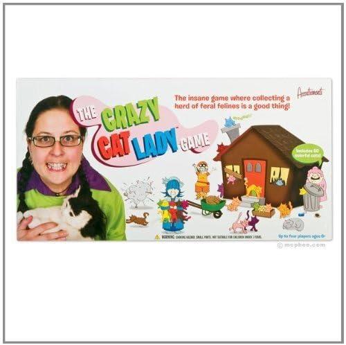 Señora loca del gato juego de mesa: Amazon.es: Juguetes y juegos