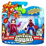 Marvel Superhero Squad Series 17 Mini 3 Inch Figure 2Pack SpiderMan & Scarlet Witch