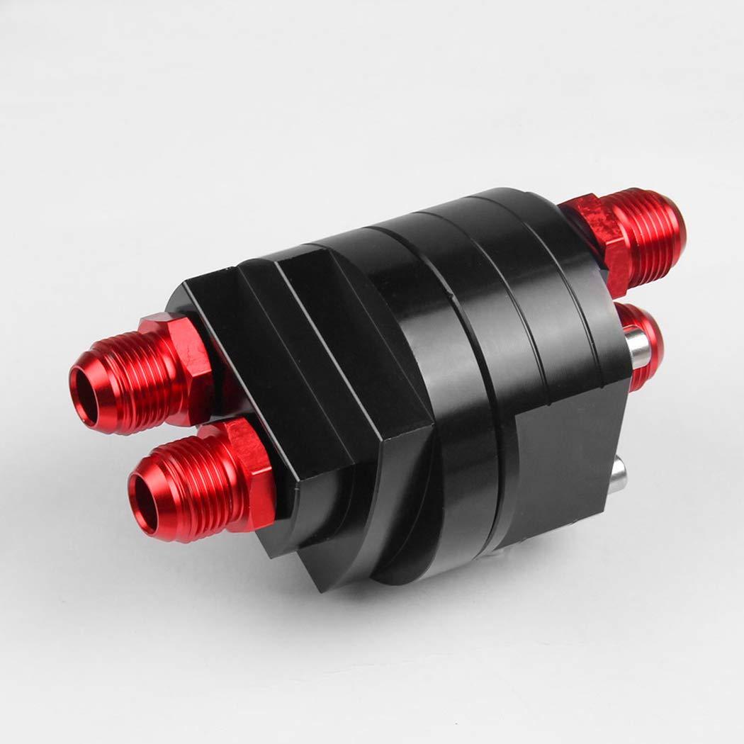 Fansport Kit Adattatore per Kit di Raccordo per Panino Maschio per Riposizionamento Filtro Olio in Alluminio