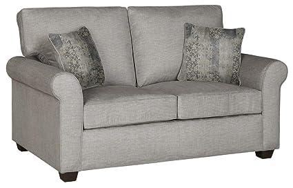 Amazon.com: Progressive Furniture Upholstered Loveseat in ...