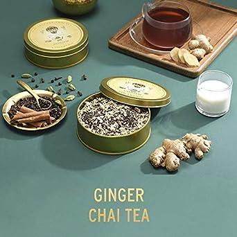VAHDAM, reserva privada de té Chai TRIO - 3 TEAS | Té favorito de OPRAH | Ginger Chai, Canela Chai, Maharani Oolong Chai | Regalo dia de la Madre | Regalos ...