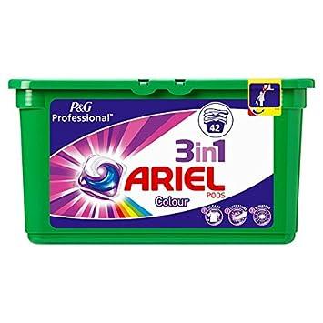 Ariel vainas 3 in1 color 42 Cápsulas: Amazon.es: Hogar