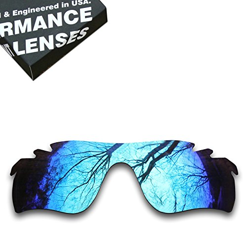 ToughAsNails Polarized Lens Replacement for Oakley RadarLock Path Vented Sunglass - More - Radarlock Lenses Replacement