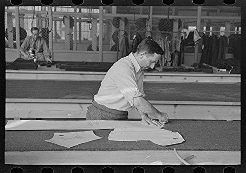 Historicalfindings Photo  Louis Gushen Aim Association Inc Highstown New Jersey Nj Garment Factory Fsa