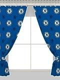 "Chelsea FC 66"" x 54"" Drop Curtains"