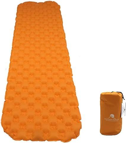 Amazon.com: Colchón hinchable de acampada ultraligero de ...